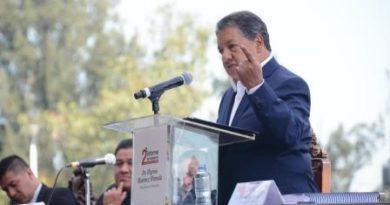 Rinde segundo informe Higinio Martínez