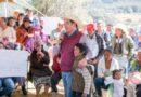 Entrega Miguel Sámano apoyos para enfrentar bajas temperaturas En la zona norte del Edomex