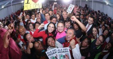 Elige PRI a Cesar Camacho y Alejandra del Moral como formula al senado por el Edomex