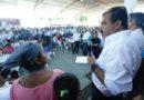 Supervisa Eviel Pérez Magaña atención de familias en zonas afectadas por el sismo del pasado viernes en Oaxaca
