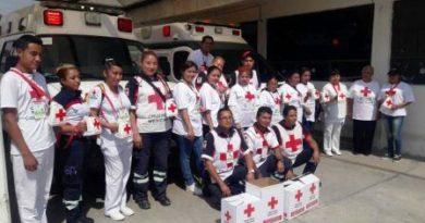 La Cruz Roja de Valle de Chalco trabajan con todo el ánimo y vocación de servir