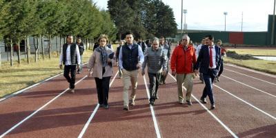 Coordinan acciones secretarías de obra pública y cultura para fortalecer infraestructura deportiva y cultural del Edoméx