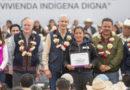 Inicia Alfredo del Mazo programa para mejorar viviendas en las comunidades indígenas del Edoméx